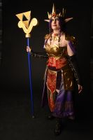 Hilda Hyrule Warriors style cosplay by Nafuri-chan