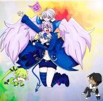 Elsword: Lu, Ciel, Rena, Raven. Wave by June183