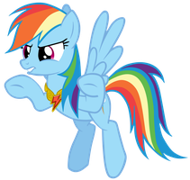 Rainbow Dash Quotation Marks Vector by Camsy34