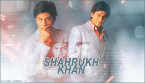 ShahRukh Khan - 1 by flowerdesignsworld