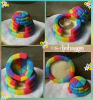 Rainbow Igloo Trinket Box by OpalSkye