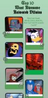 top 10 Best animated villians of the 80's by JefimusPrime