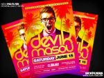 Miami Dj Flyer Template by Industrykidz