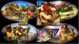 Ready to Smash: Bowser by Kirby-Kid