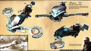 Low Altitude Vehicle / Hoverbike by kaario