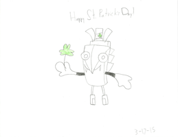 Mixels - Happy St. Patrick's Day from Torts! by worldofcaitlyn