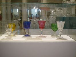 colored glass by jastock