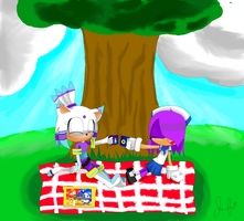 CE:Frost and Sonya Picnic by Starzway