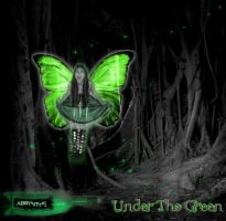 Under The Green EP Cover by sleepingxoffxcyanide