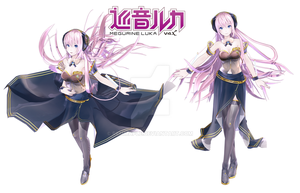 REM's Megurine Luka V4X DOWNLOAD! by REMmaple