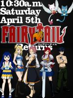 The date that Fairy Tail returns by monkeymonkey153