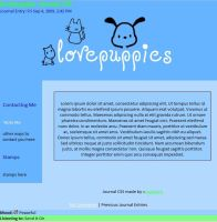 Journal CSS for lovepuppies by caybeach
