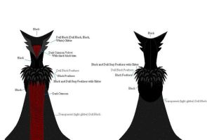 wraith queen dress two by imjustascarecrow