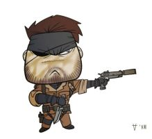 Chibi Big Boss by Kain-Moerder