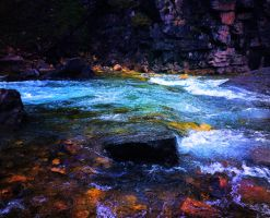 Rainbow River by Simbabadass