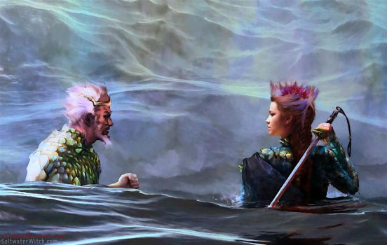 The Sea and the Seaborn King by the0phrastus