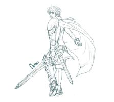 Chrom Sketch by RoyLover