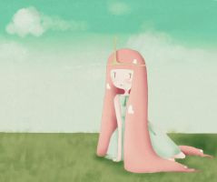 princess bubblegum. by silvershadowhdgehog