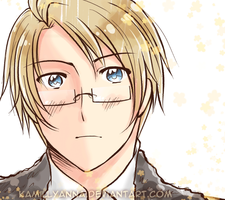 APH: Animated America Loves You by kamillyanna