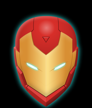 New Invincible Iron Man Helmet by Yurtigo