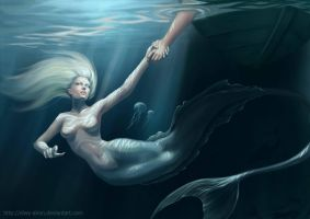 mermaid by LilyFrozenHeart