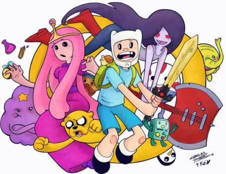 Adventure Time koi colors by KidNotorious