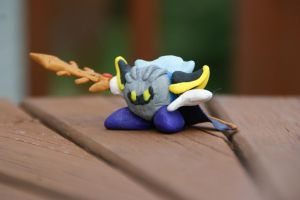 Clay Meta Knight 1 by The-Wizard-WhoDid-it