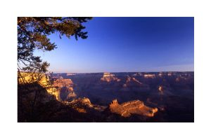 SUNRISE AT THE SOUTH RIM by ScarredWolfphoto