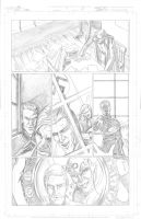 Thor Page 9 Pencils by Theamat