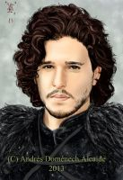 Kit Harington as Jon Snow by Vladsnake