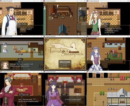 Turnabout Steampunk: V1.0 Released by RabbitonBooks