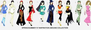 Inspiration Abound Collection by firedancer-clothes