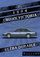 '94 Ford Crown Victoria Vintage AD by MosesMD