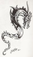 Dragon Tattoo by PaulSpatola