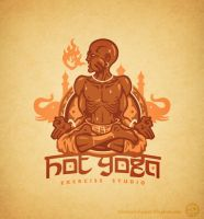 Hot Yoga by Winter-artwork