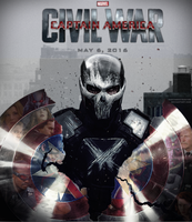 Captain America: Civil War fan-made poster by DarthDestruktor