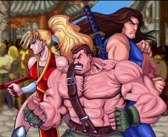 Final Fight Heroes 2 by The-Switcher
