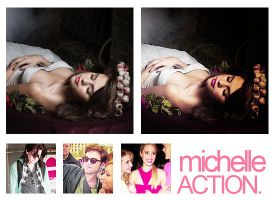 Action michelle. by MyloveRobsten