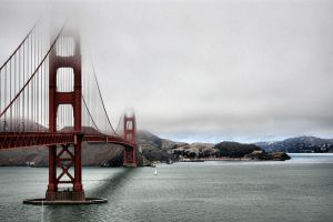 The Golden Gate Bridge by MeitarTewel