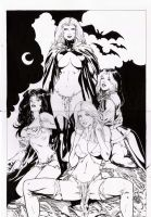 goblin queen,kitty,she, emma by amorimcomicart