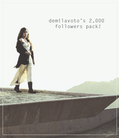 demilavoto's 2k follower pack! by hipstaharold