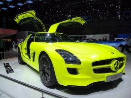 Geneva 2011: MB SLS AMG E-Cell by randomlurker