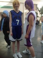 Kuroko shoot with friends~ by Ineedaname9