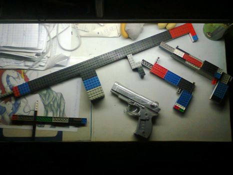 Lego Battle's Inventory by HiroshiMorie