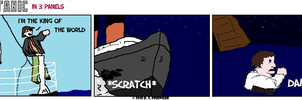Titanic in 3 Panels by Cilmeron
