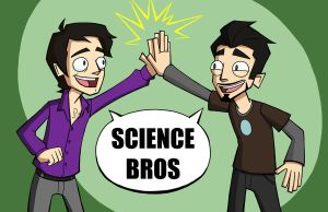 Science Bros by bishounenizer