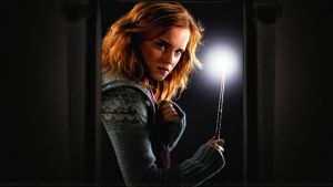 Emma Watson Doorway into Darkness by Dave-Daring