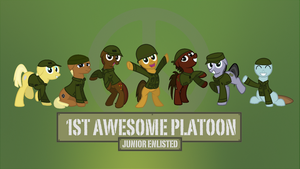 1st Awesome Platoon Facebook Cover by FirstAwesomePlatoon