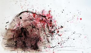 Trapped (Vision Of Trapped Rhinoceros In A Darkest by AlexandruCrisan