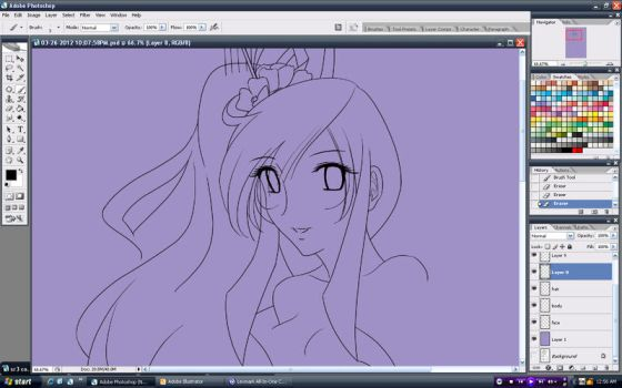 WIP: I JUST WANT TO ART THINGS by anime-dragon-tamer